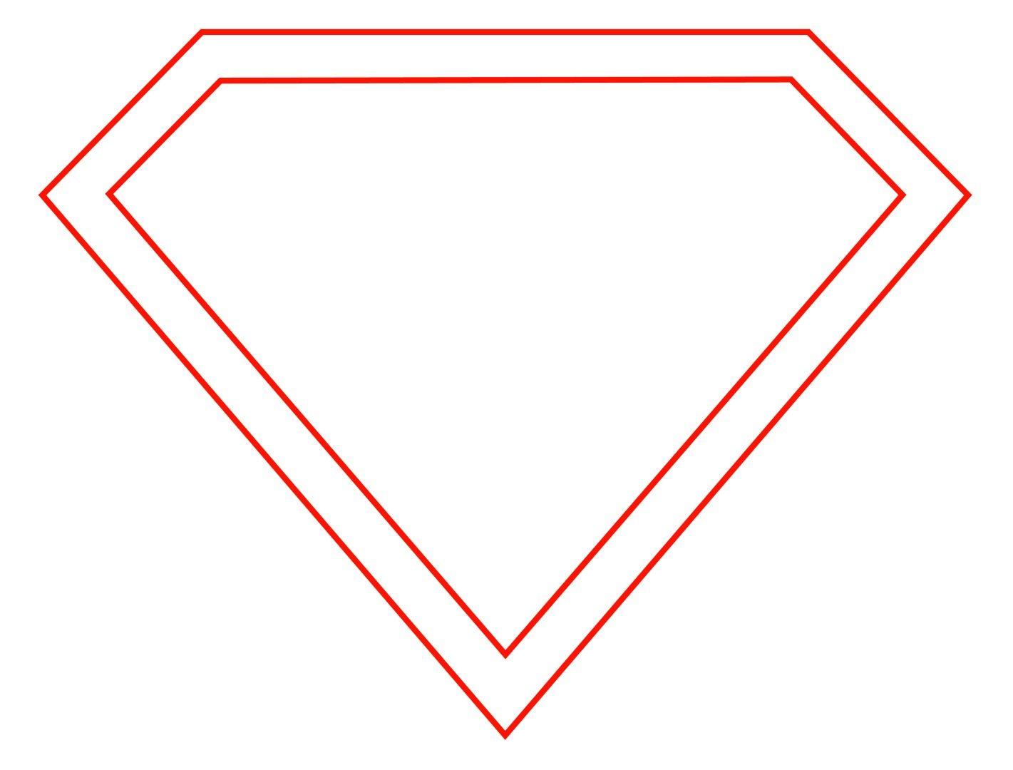 How To Draw The Superman Logo Svg Pinterest Superman Logo