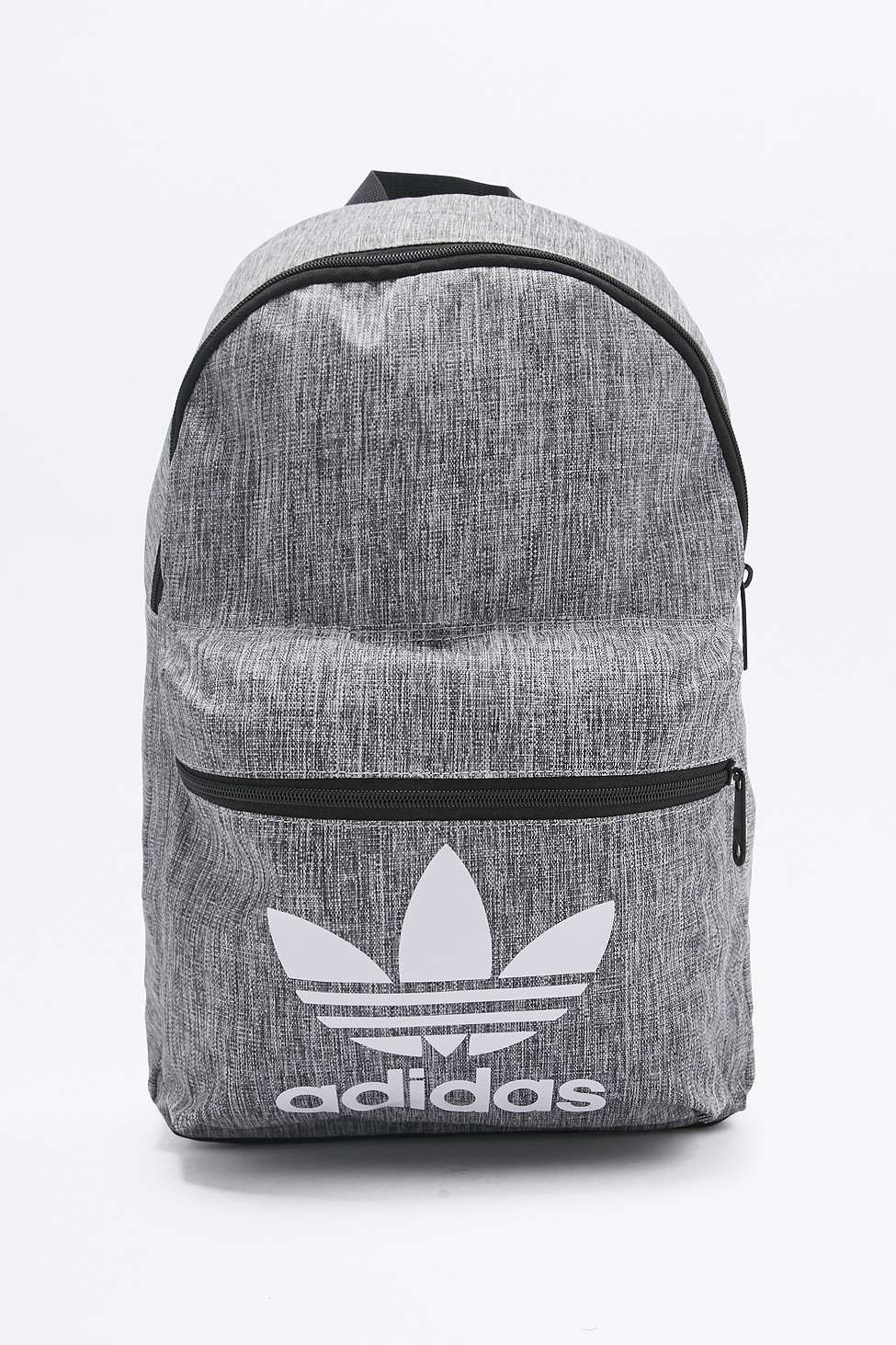 f246a01616a8 adidas Originals Grey Melange Backpack in 2019