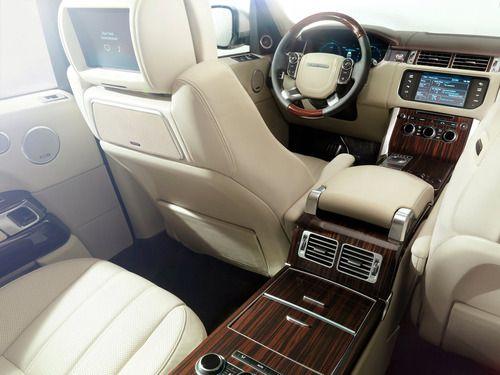 Pictures Of Luxury Range Rover Interior Luxury Cars Range Rover Luxury Car Interior