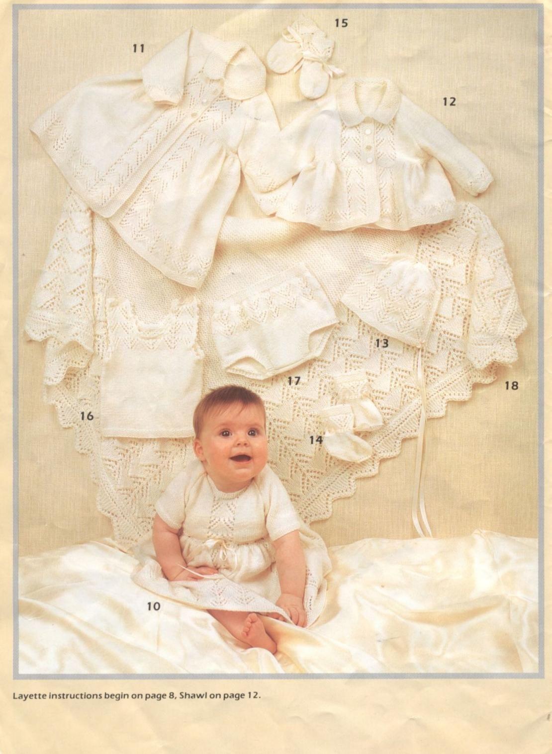 Patons 700 Layettes You ll Love | Knitting | Pinterest | Layette ...