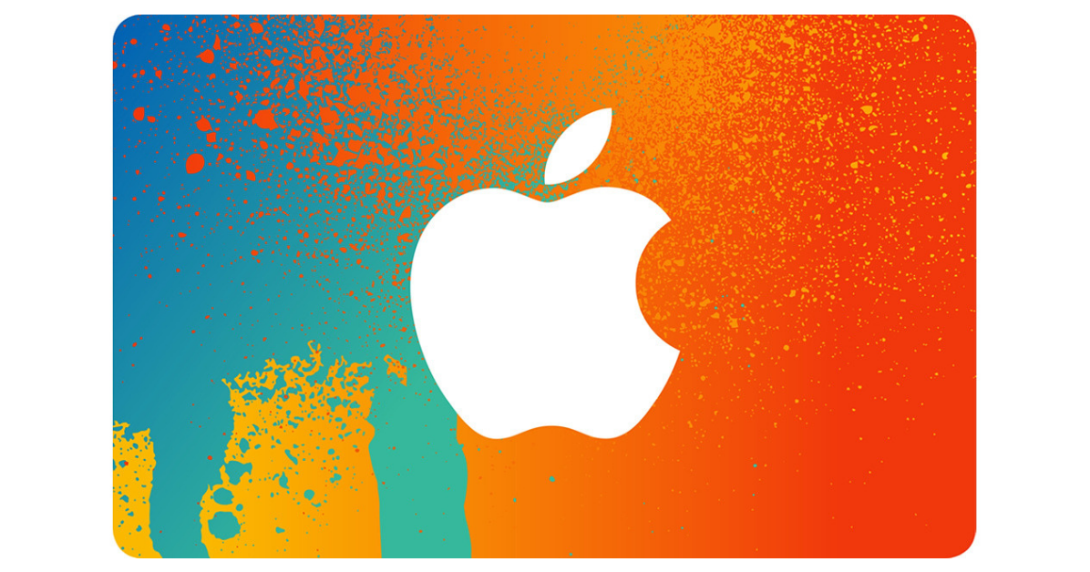 1000 Apple Gift Card