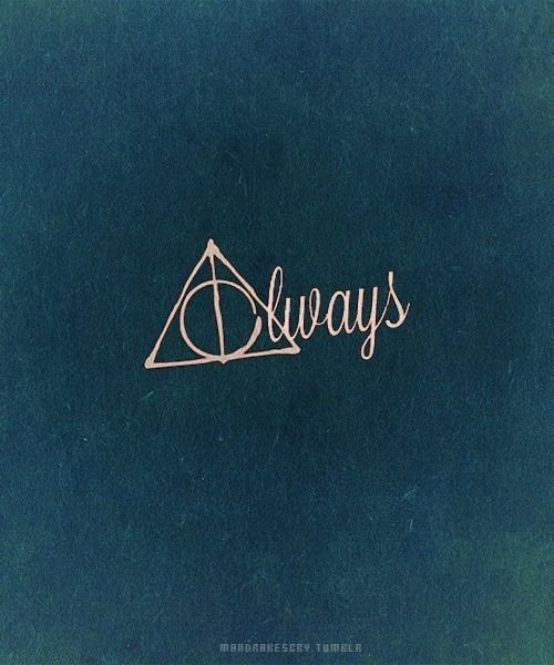"""Harry Potter Wallpaper We Heart It: Harry Potter ϟ - """"After All This Time?"""""""