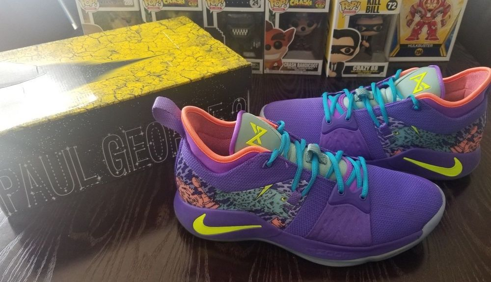 best authentic ad4ea cf330 Paul George PG-2 Mamba Day Mentality Nike Retro Men's Size ...