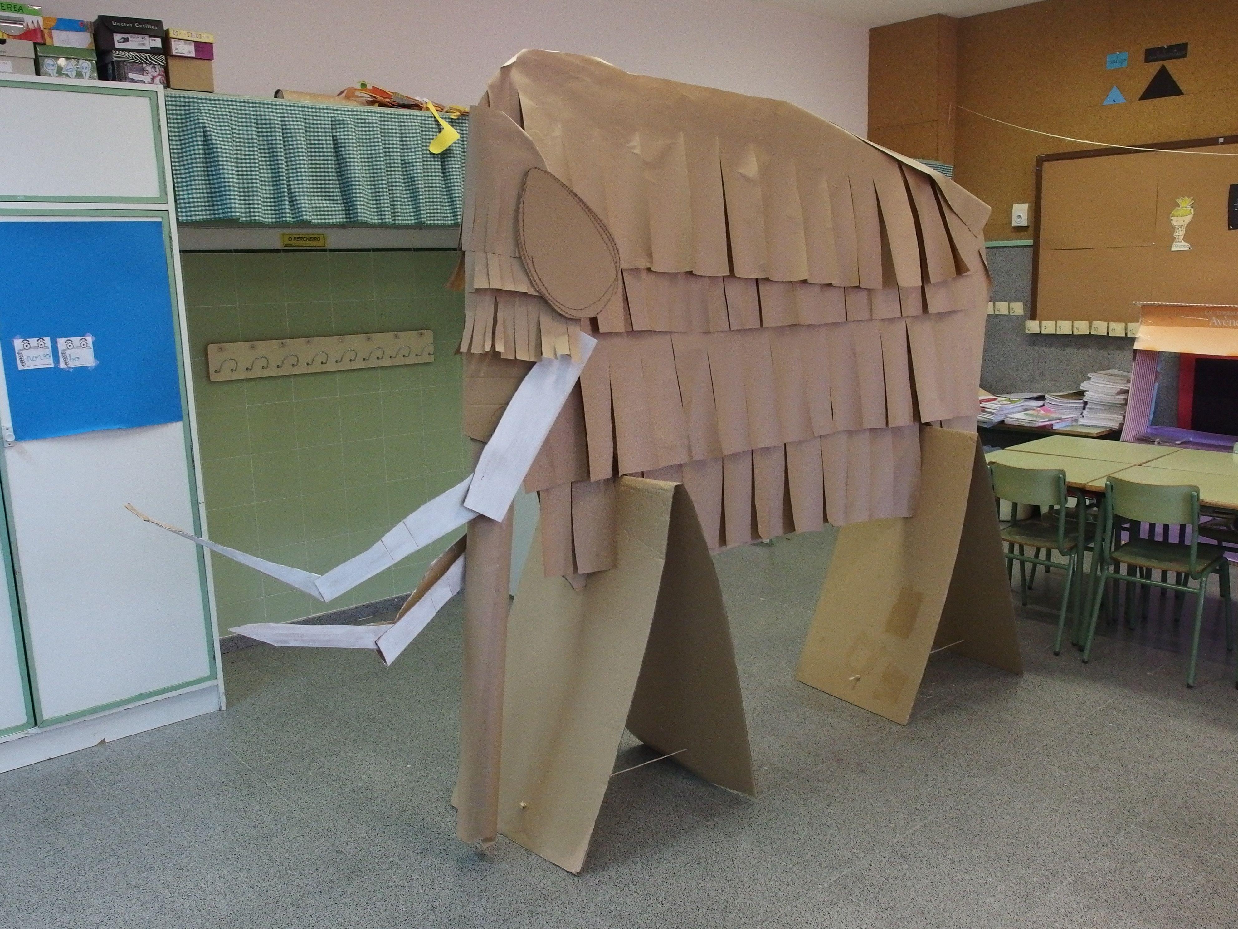 mamut de cart u00f3n