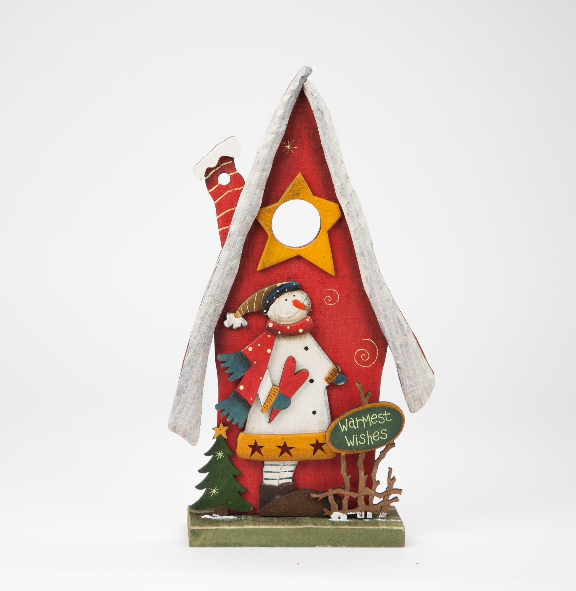 Casa Boneco de Neve 22 x 7 x 39 cm   A Loja do Gato Preto   #alojadogatopreto   #shoponline   referência 44265977