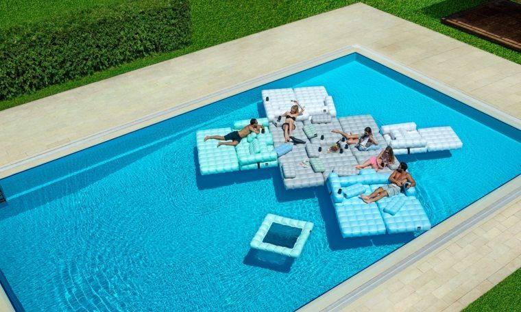 Mobilier piscine Inomo ou autres marques ayant créé des meubles ...
