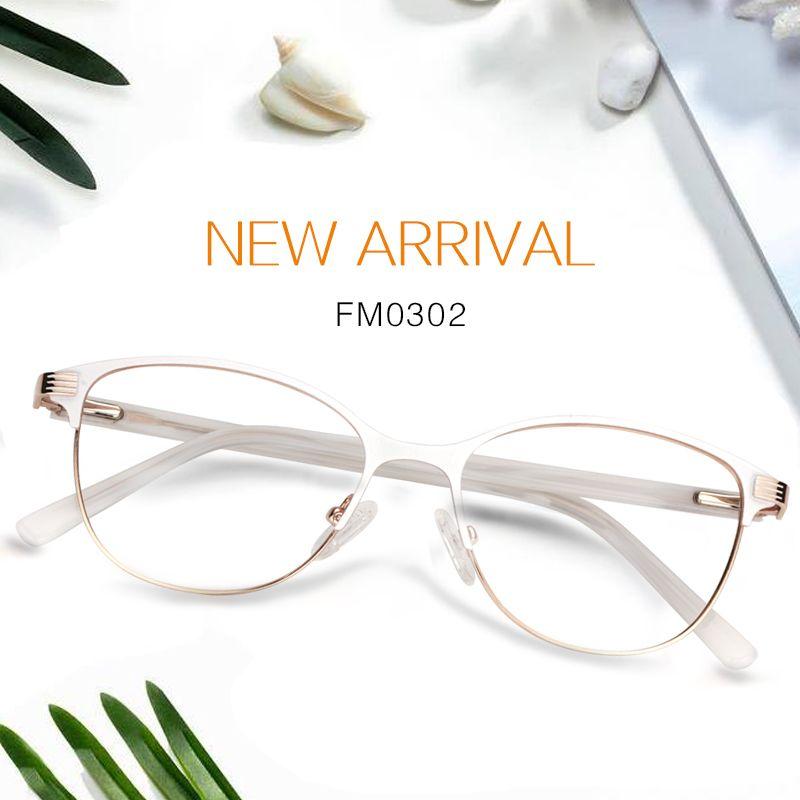 10ceec5bf00 Lenna Browline Glasses FM0302-01