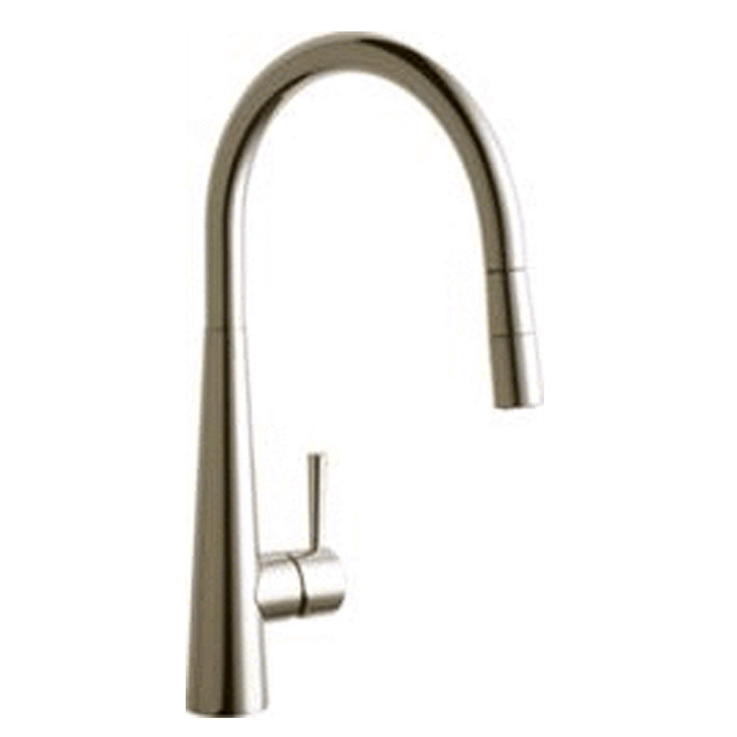Buy Elkay Harmony Single Hole Kitchen Faucet with Pull-down Spray ...
