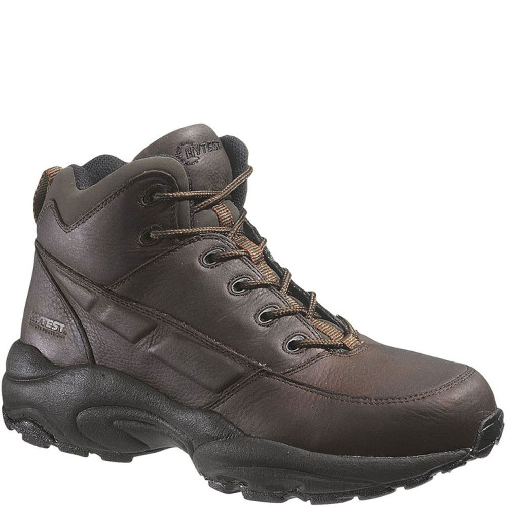 12071 hytest unisex conductive safety boots brown