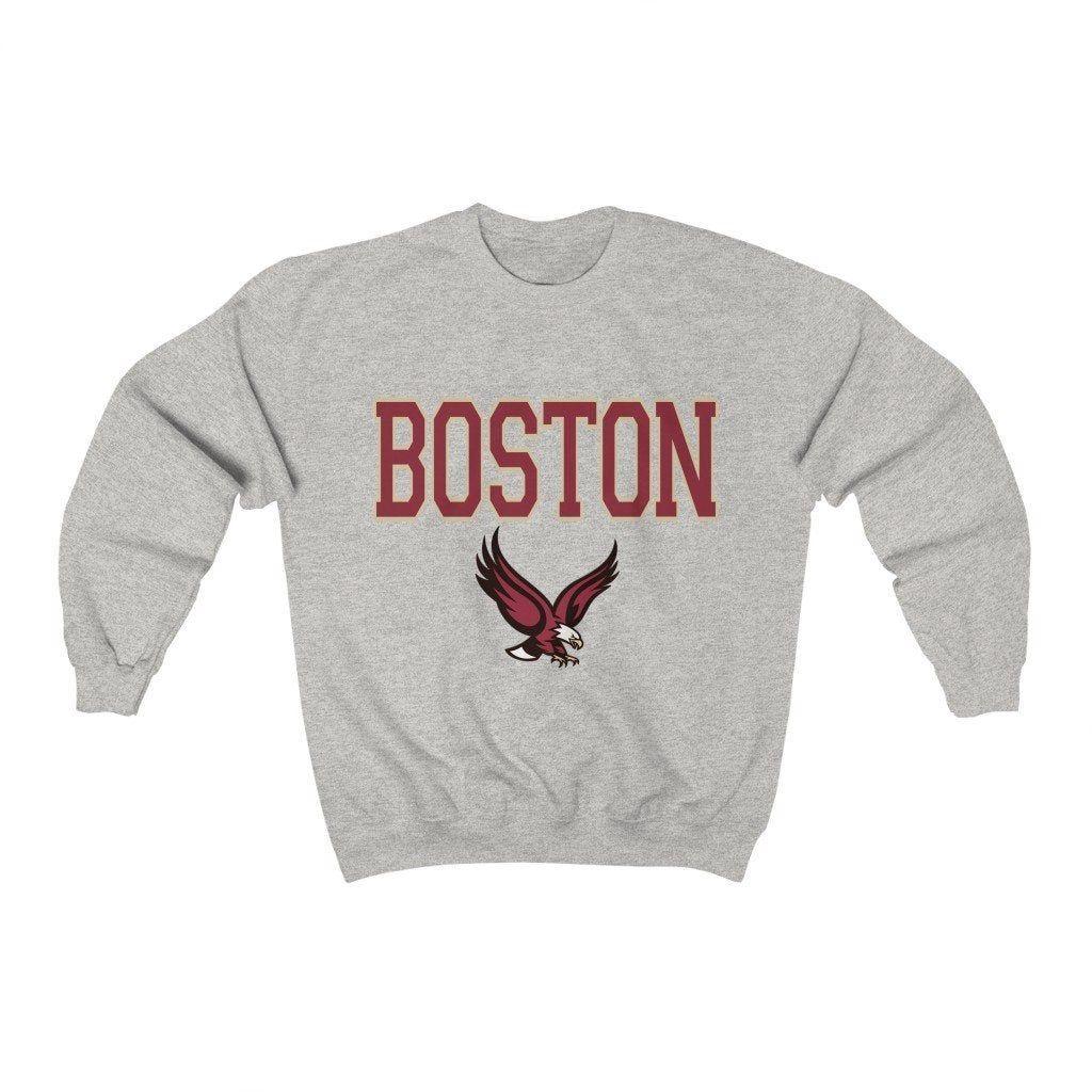 Boston College Sweatshirt Etsy Sweatshirts College Sweatshirt Graphic Sweatshirt [ 1024 x 1024 Pixel ]