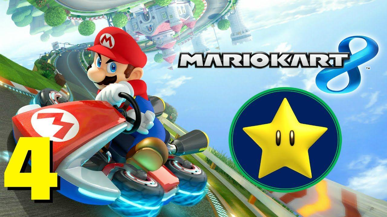 Mario Kart 8 Star Cup Track 4 Mount Wario Mario Kart 8 Gameplay