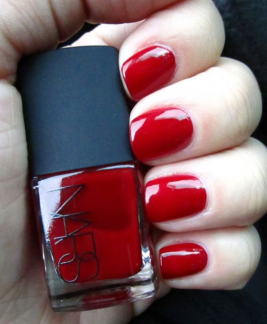 Nars Jungle Red outside lighting by Fatale Fashion, via Flickr ...