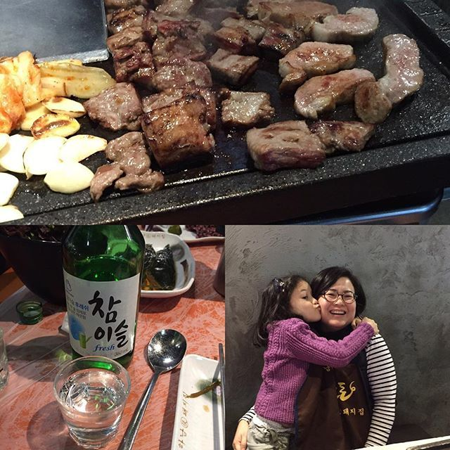 I love #Friday night #dinner - #family #familyfirst #fatherdaughter #husbandandwifeCheck out the #weekinmusic section of my blog at http://liamlusk.com/category/week-in-music/