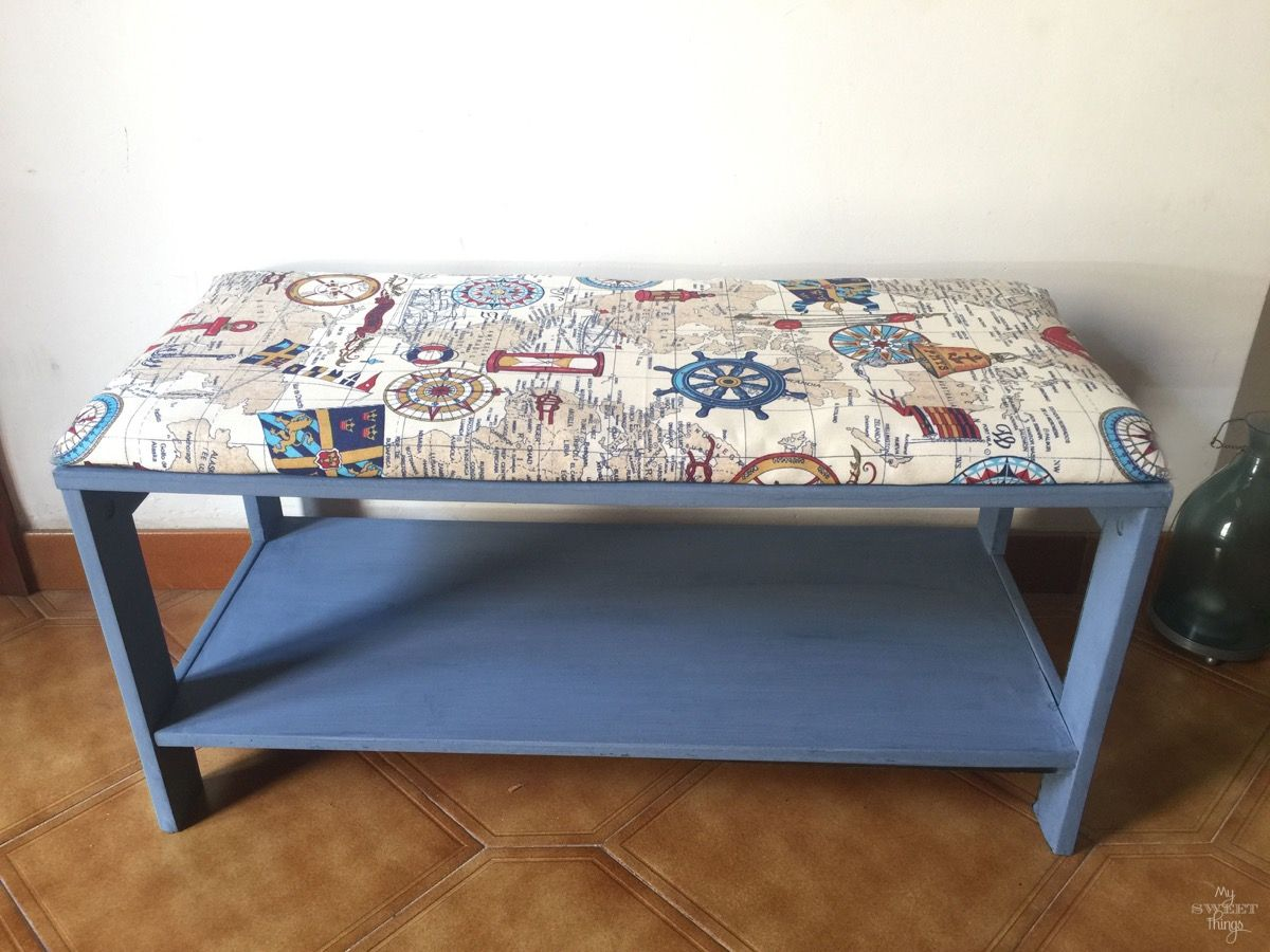 Super Nautical Upholstered Bench Coffee Table Nautical Benches Machost Co Dining Chair Design Ideas Machostcouk