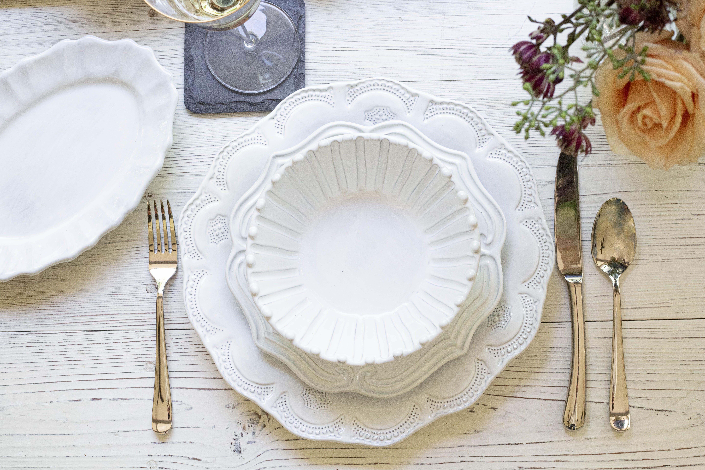 Incanto by VIETRI | White Dinnerware | Italian Dinnerware Sets