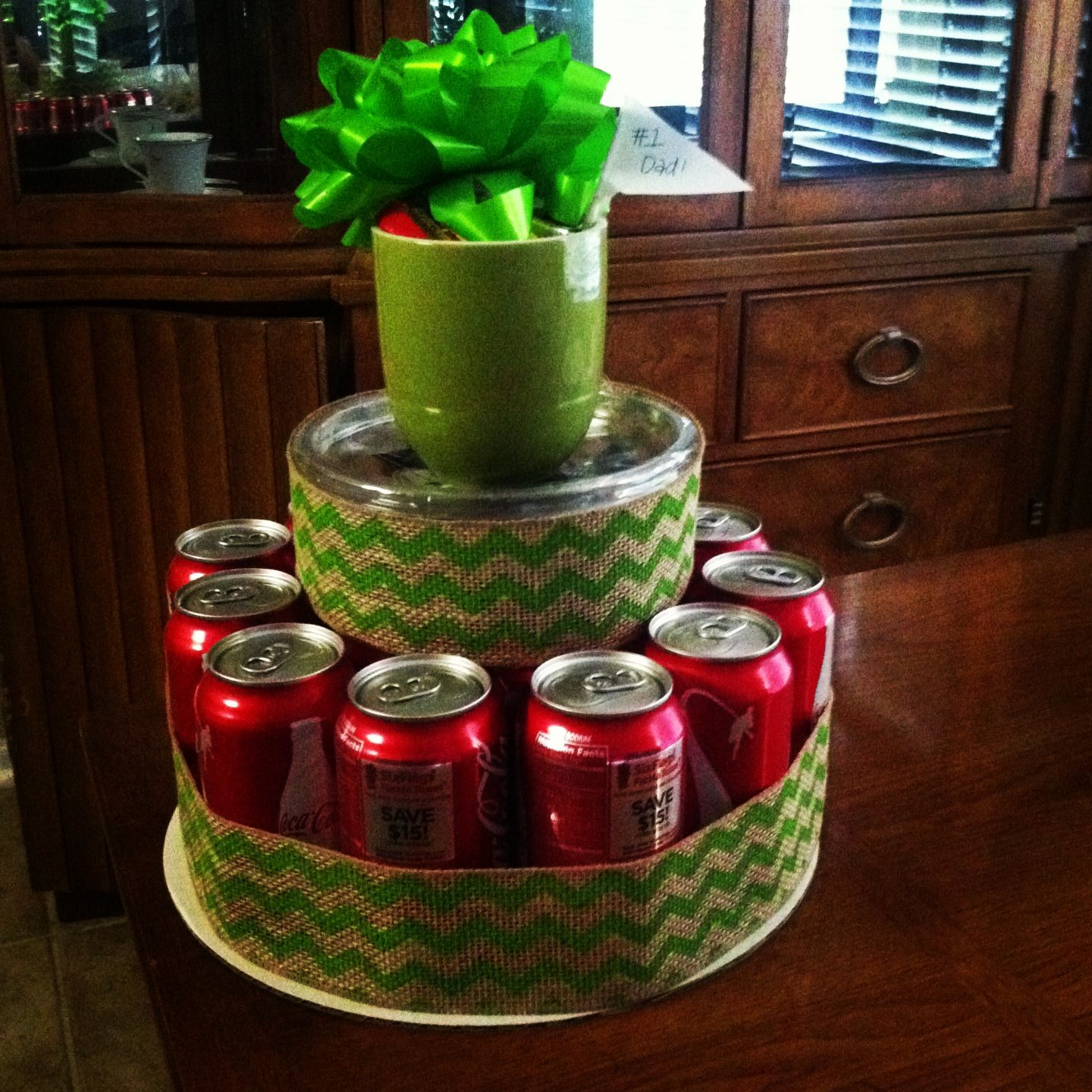 Diy T Basket Cake Made With All My Dads Favorites