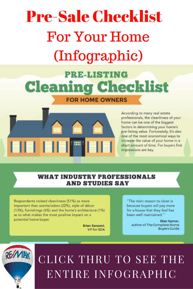 31 Great Cleaning Tips Pre Sale Checklist For Your Home