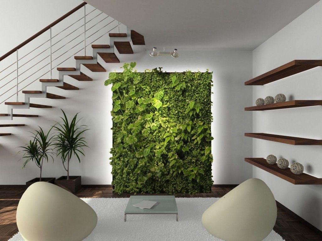 tolle wandgestaltung wohnideen wandfarben pflanzen wand | home ...