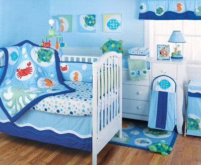 Our Under The Sea Nursery Mural Sketch