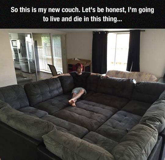 The best couch in the world!
