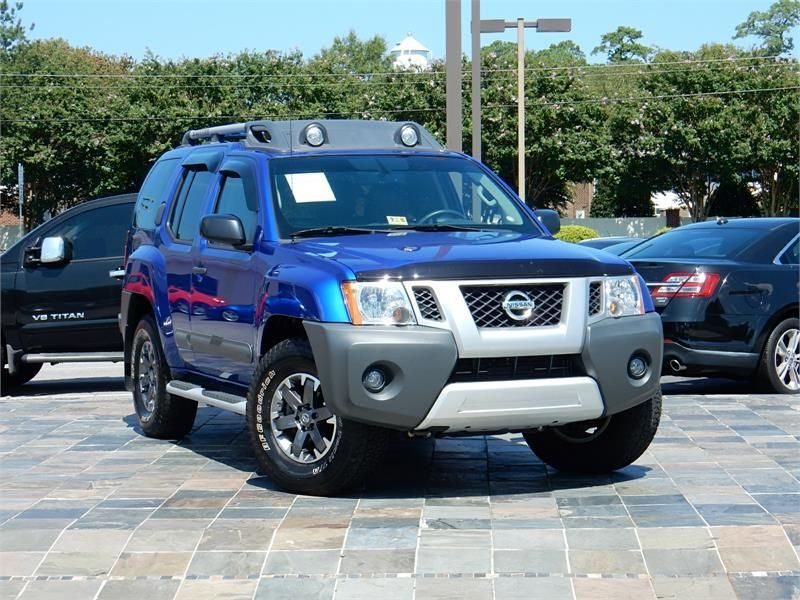 2015 Nissan Xterra Pro 4x For Sale In Virginia Beach 10887 Miles Blue Exterior Color With A Black Interior 4 2015 Nissan Xterra Nissan Xterra Virginia Beach