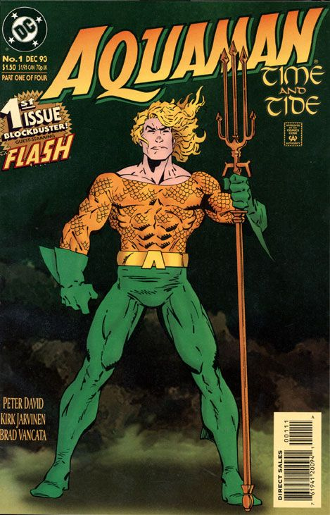 Aquaman is a superhero who stars in many comic book titles by DC Comics. Created by Paul Norris and Mort Weisinger, the character debuted in More Fun Comics #73 (November 1941). http://en.wikipedia.org/wiki/Aquaman
