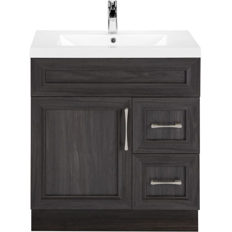 Cutler Kitchen And Bath Cckatr30rht Karoo Ash Classic 30 Free Standing Single Vanity Set With Wood Cabinet And Cultured Marble Vanity Top In 2021 Bathroom Vanity Small Bathroom Vanities Corner Bathroom Vanity