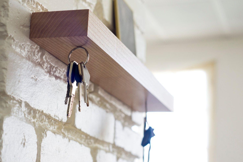 Clic, magnetic wall key holder shelf by GentlemenProject on Etsy