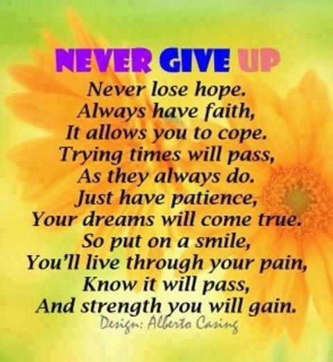 Never Give Up On Life Quotes Custom Never Give Uplife With Fibromyalgia Chronic Illness  Dealing