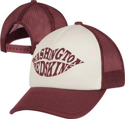 bd5dae5bd46 Washington Redskins Women s Hat  Foam Trucker Hat
