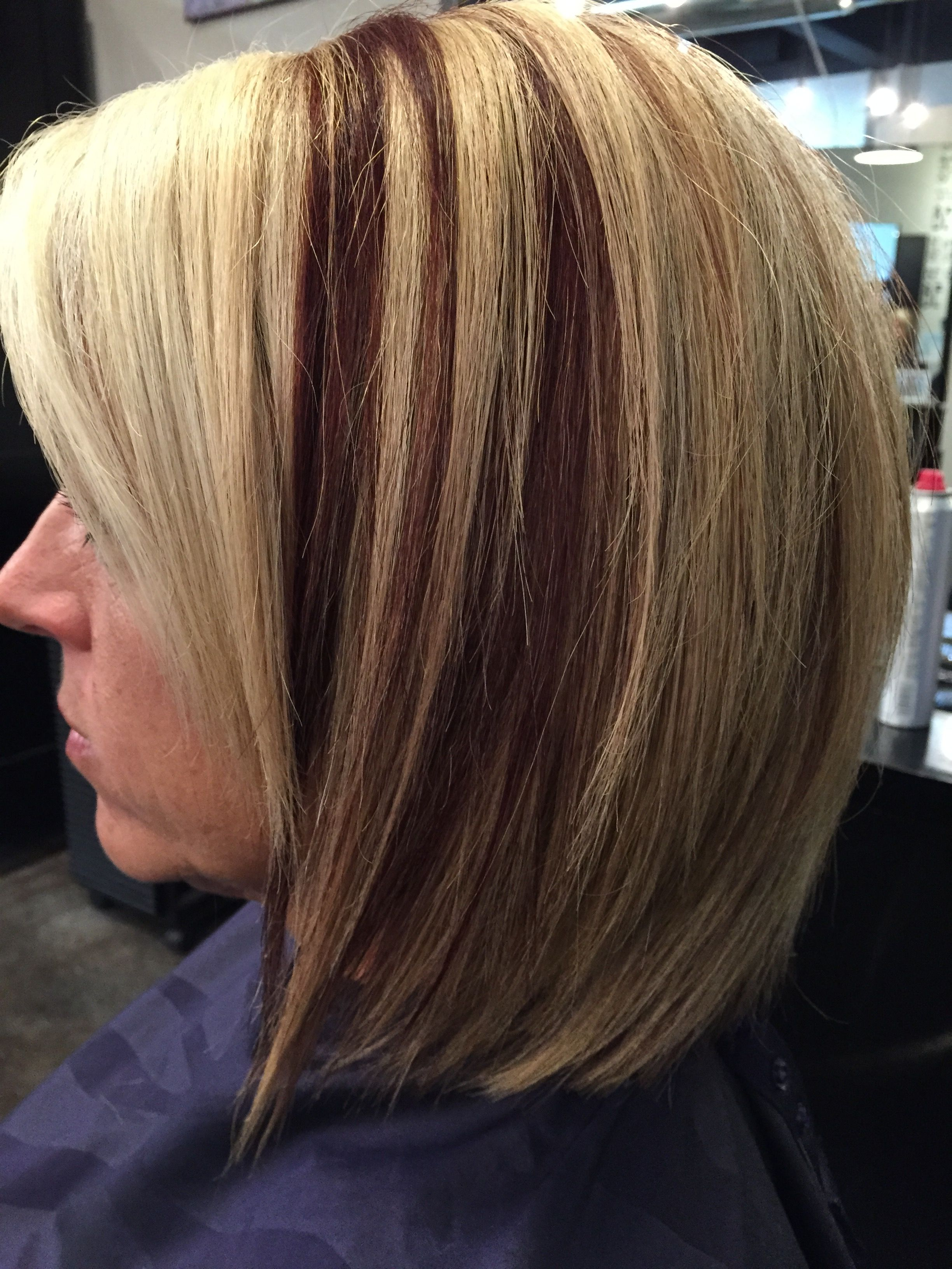 Keune Added Some Copper With Magic Bleach And Level 9 3 Hair Styles Long Hair Styles Hair Color