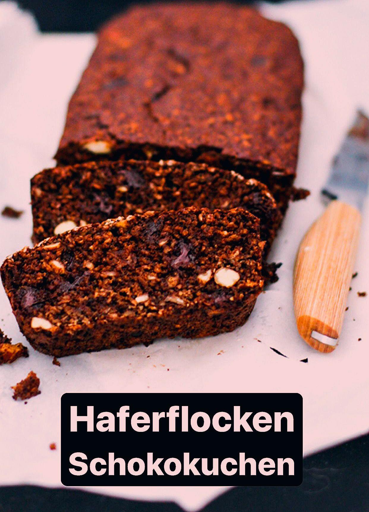 Photo of Schoko-Haferflocken-Kuchen – Holla die Kochfee