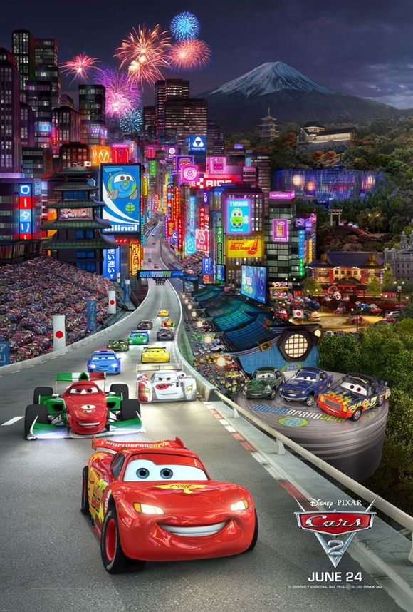 Cars The Movie Cars 2 Una Aventura Sobre Ruedas Para Toda La Familia Cars Disney Pixar Imagenes De Cars Disney Cars