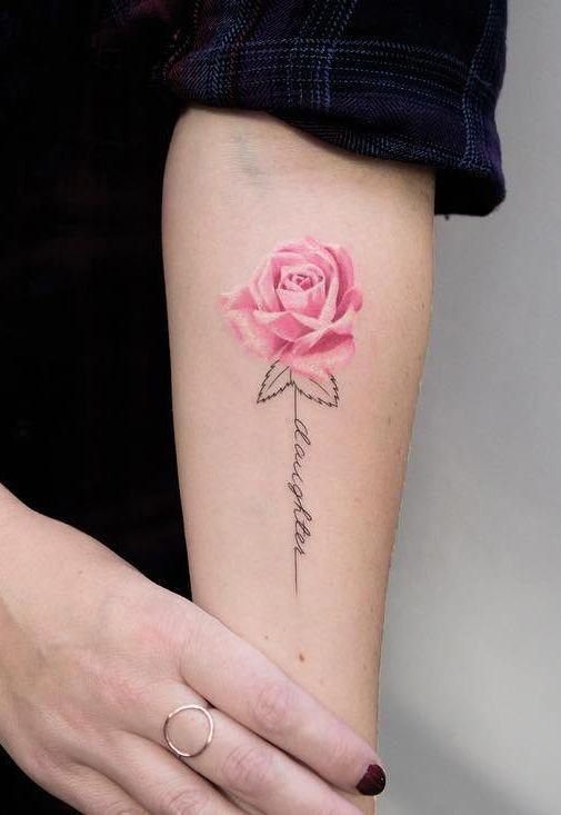Tattoodo Hashtag Instagram Posts Videos Stories On Bildgram Com With Images Tattoos For Daughters Pink Rose Tattoos Rose Tattoos