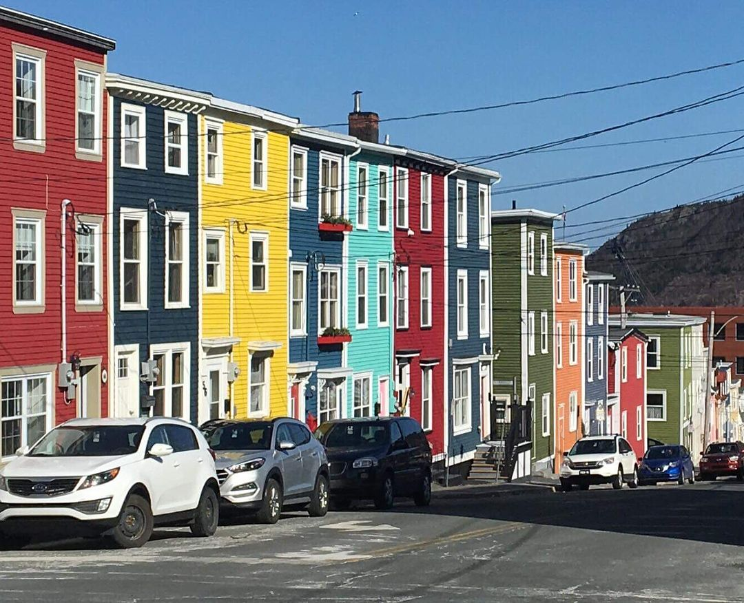 Jelly Bean Row >> Jellybean Row Newfoundland Canada Places To Go In 2019 The