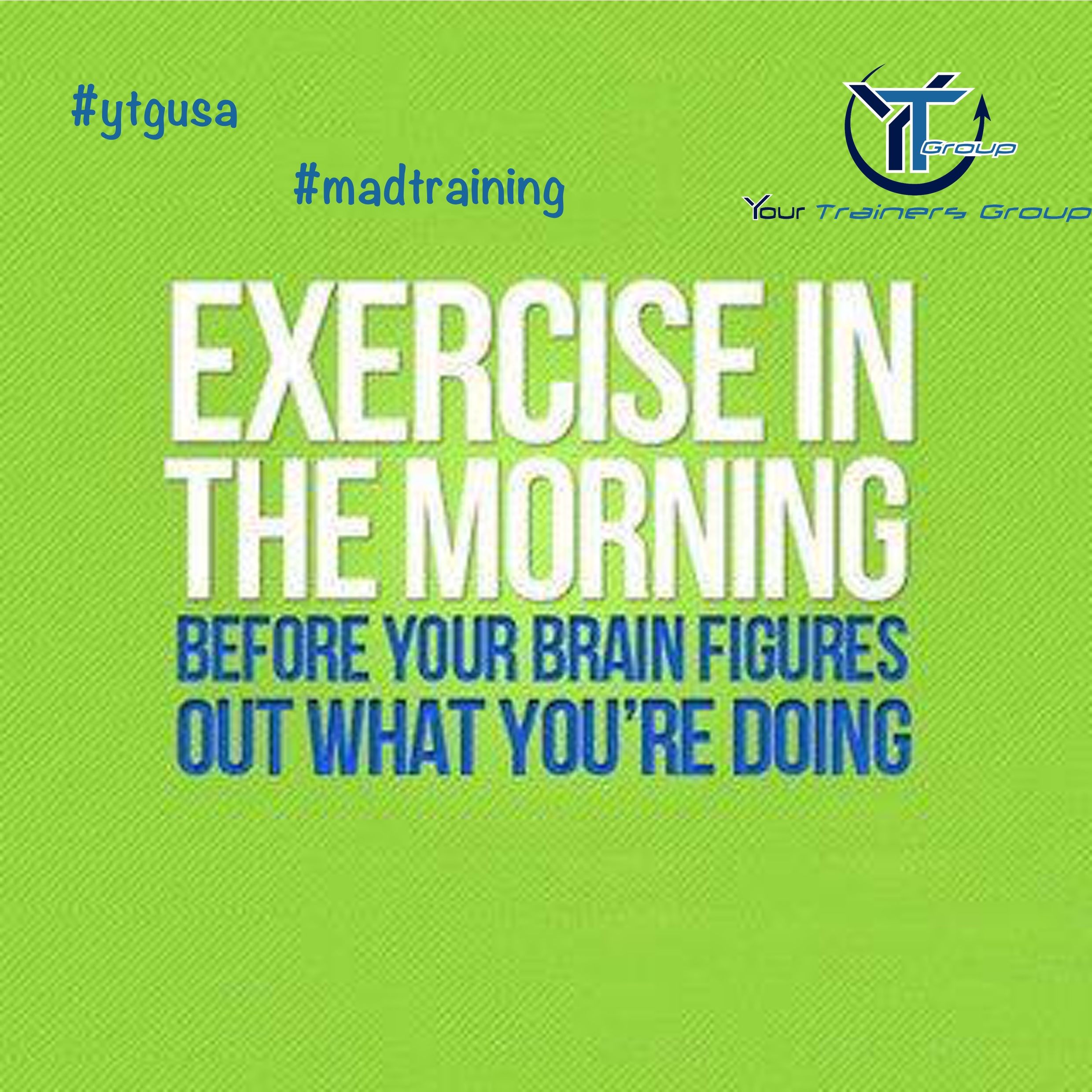 Quotes About Exercise Exercise In The Morning Before Your Brain Figures Out What You Are