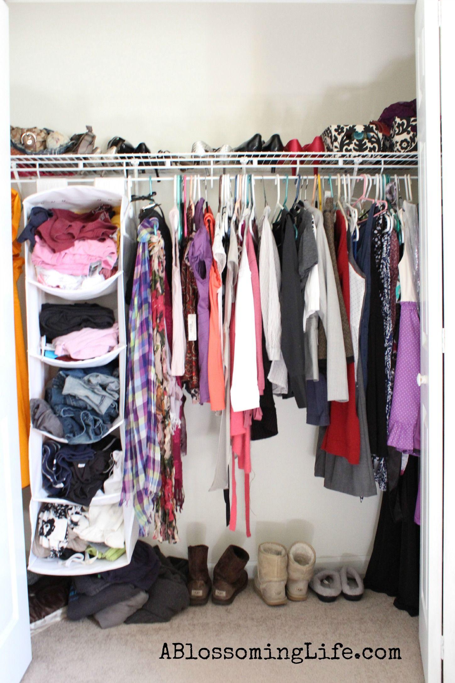 Charming $0 Closet Organization