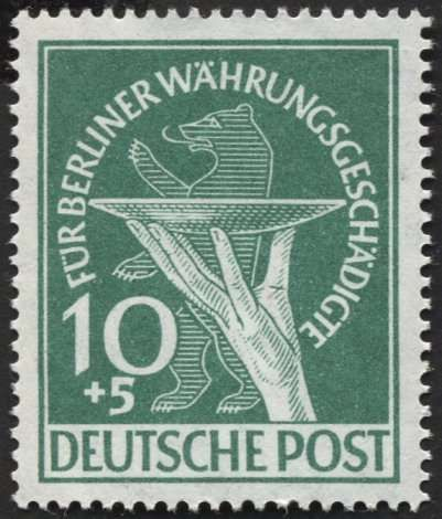 Berlin, 1949 Postal stamps, Stamp collecting, Stamp