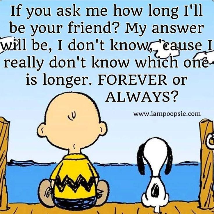 Forever/always