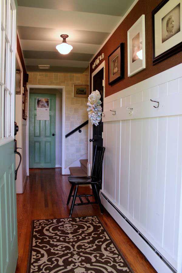 50 ideas para pintar y decorar un pasillo estrecho - decoracion pasillos