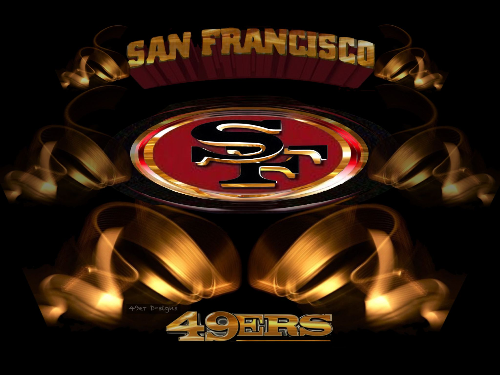 Idea by 49er Dsigns on 49er Logos Nfl football wallpaper