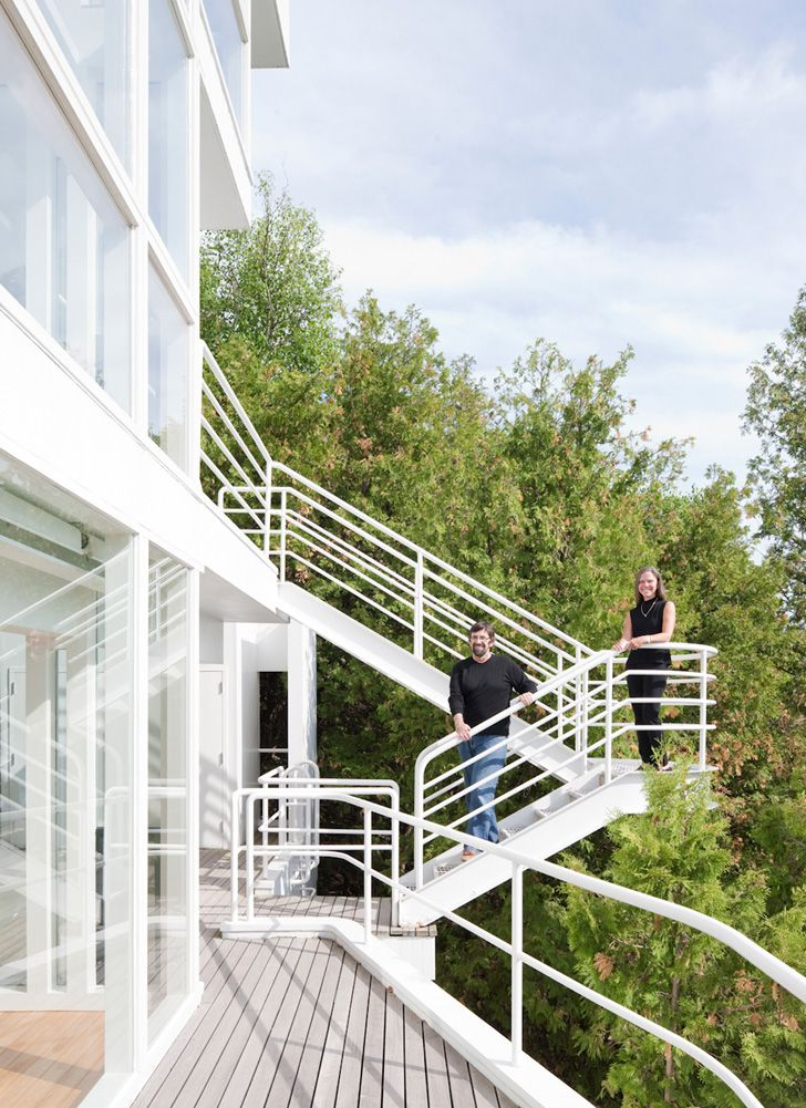 the douglas house by richard meier - Richard Meier Homes
