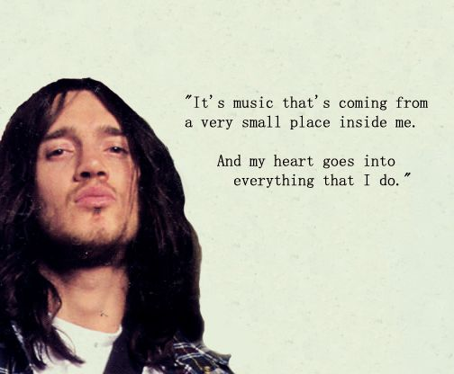 john frusciante quote | Favorite groups and singers ... John Frusciante Quotes