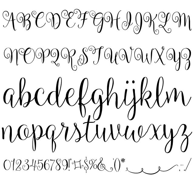 Ballerina script font like and repin thx noelito flow