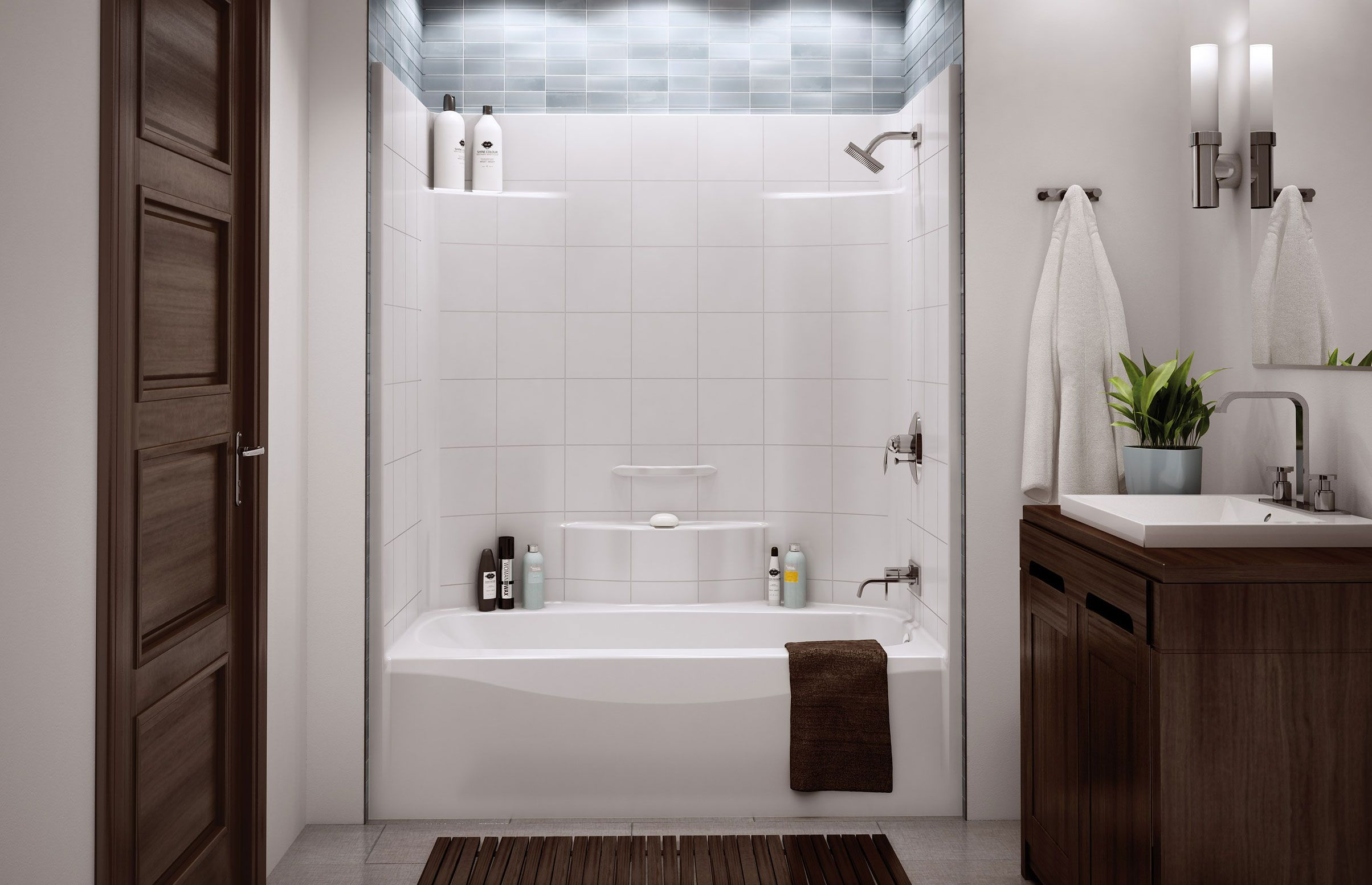 TST-3660 Alcove Tub shower - Aker by MAAX | Ideas for the House ...