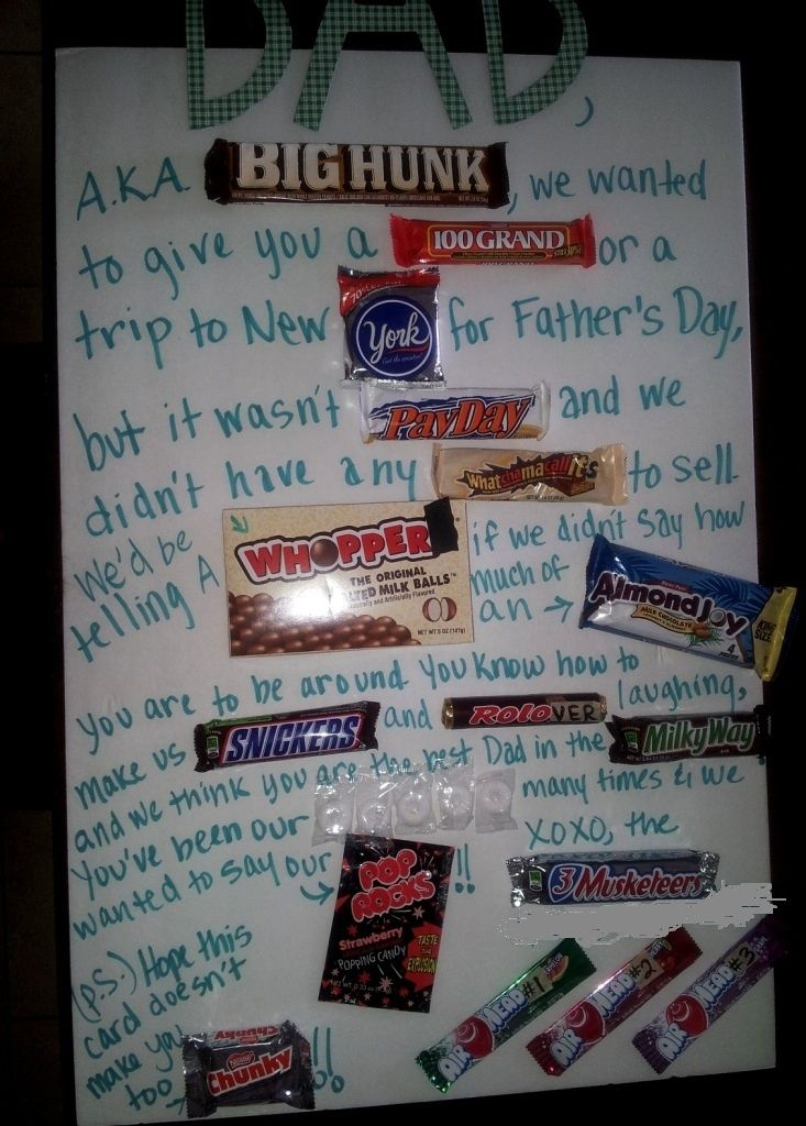 a+father's+day+candy+card+poem | Fathers Day Candy Bar Card
