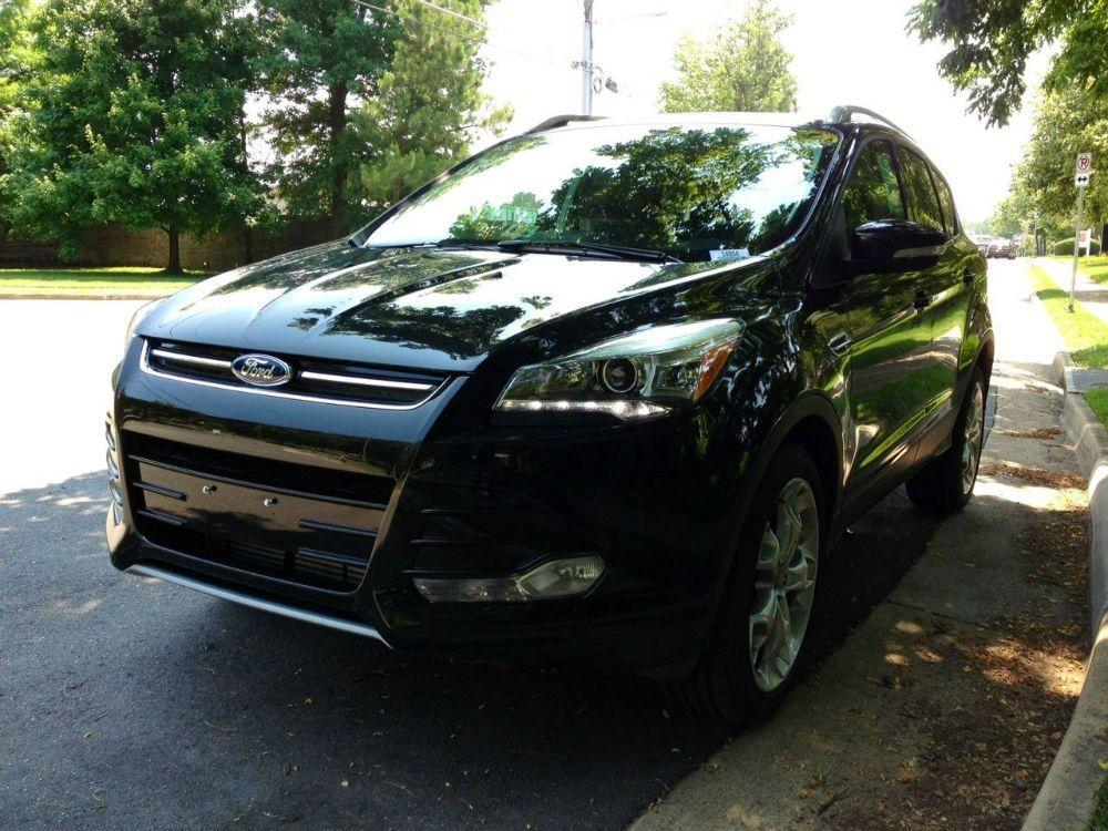 2014 Ford Escape Titanium Black Ford Escape Ford Escape 2015 Ford