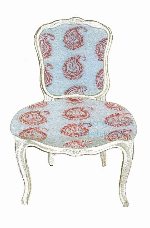 Best Blue Paisley Chair Print Chair Paisley Upholstered Chairs 400 x 300