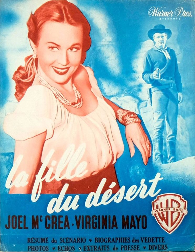 La Fille Du Désert Film : fille, désert, Fille, Désert, Films, Western,, Affiche, Film,