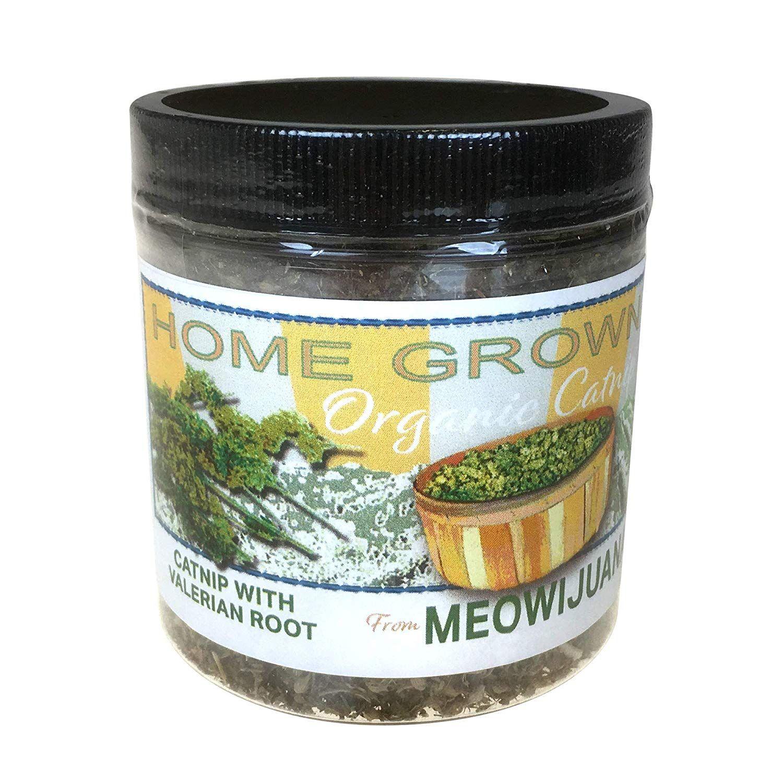 Meowijuana Catnip with Valerian Root Blend, Feline